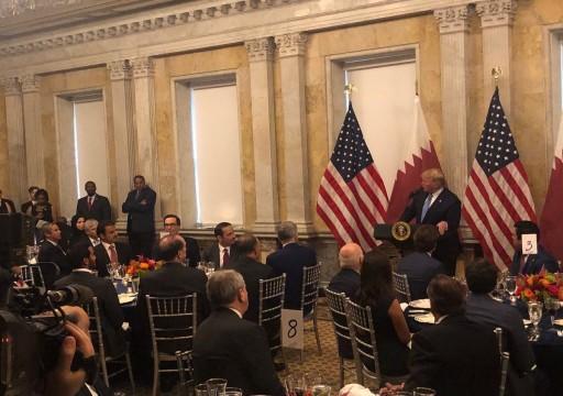 أمير قطر: سنعمل مع واشنطن للحد من التصعيد بالمنطقة