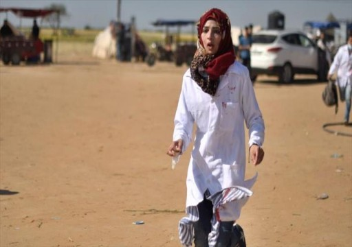 الفلسطينيون في غزة يستعدون لجمعة المرأة الفلسطينية