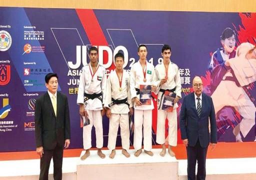 3 ميداليات لمنتخب الجودو في افتتاح «الآسيوية»