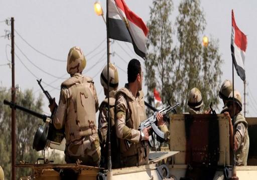 مقتل 5 عسكريين مصريين بانفجار لغم في العريش