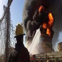 وكالة: إصابة شخصين جراء انفجار صهريج نفط وسط إيران