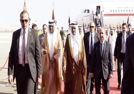 حاكم الفجيرة: دعم استقرار المنطقة أساس علاقاتنا الاستراتيجية مع مصر