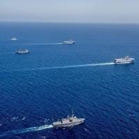 انطلاق فعاليات التدريب البحري الإماراتي المصري المشترك خليفة 3