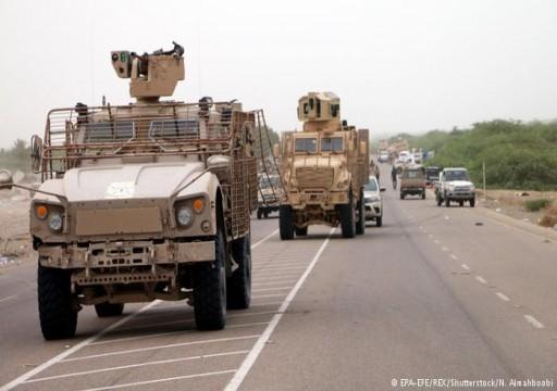 أبوظبي تدفع بتعزيزات عسكرية كبيرة إلى عدن