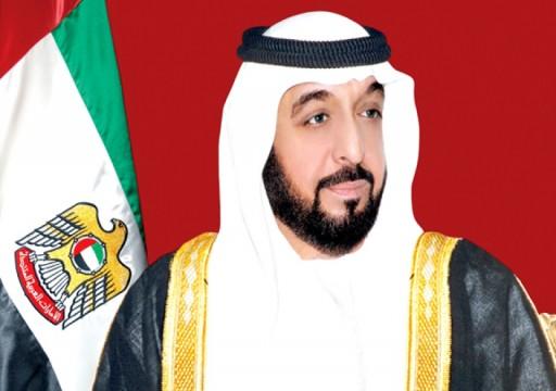 خليفة يصدر قانوناً بتأسيس شركة مياه وكهرباء الإمارات