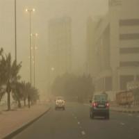 الأرصاد: طقس مغبر مع أربة مثارة على عدد من المناطق الساحلية والغربية