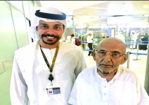 زيارة معمر هندي عمره 124 عاما إلى أبوظبي تشعل مواقع التواصل