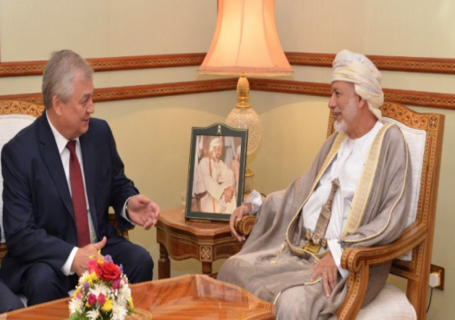 وزير خارجية عمان يبحث مع المبعوث الروسي مستجدات الأزمة السورية