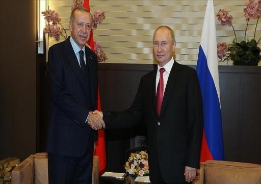 الرئيس التركي: ندرس مع روسيا إنشاء محطتين نوويتين