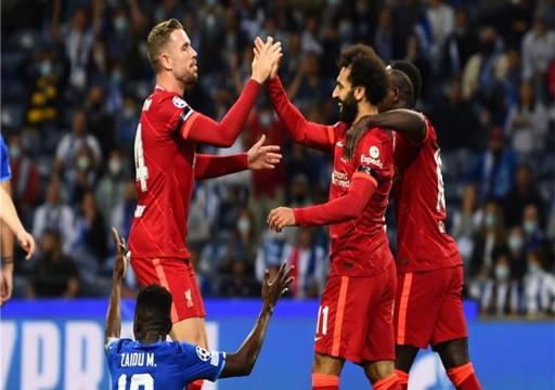 أبطال أوروبا.. ثنائية صلاح تقود ليفربول للفوز 5-1 على بورتو ونادٍ مغمور يذل الريال على أرضه
