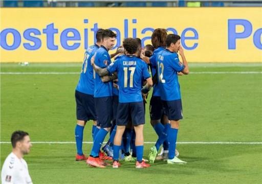 إيطاليا تفوز على ليتوانيا بخماسية في تصفيات مونديال قطر