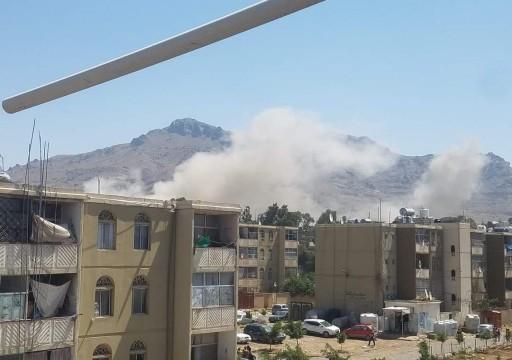 """التحالف يعلن قصف """"أهداف عسكرية مشروعة"""" للحوثيين في صنعاء"""