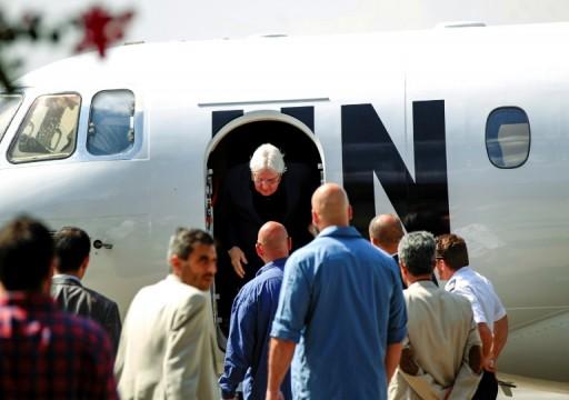 المبعوث الأممي إلى اليمن يصل صنعاء لبحث تنفيذ اتفاق ستوكهولم