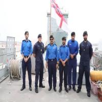 مناورة عسكرية بحرية بين القوات القطرية ونظيرتها البريطانية