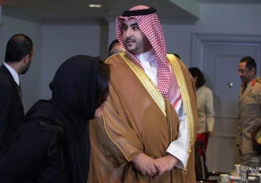 """خالد بن سلمان يشبه إيران بتنظيمي """"الدولة"""" و""""القاعدة"""""""