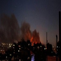 غارات إسرائيلية على محيط مطار دمشق الدولي