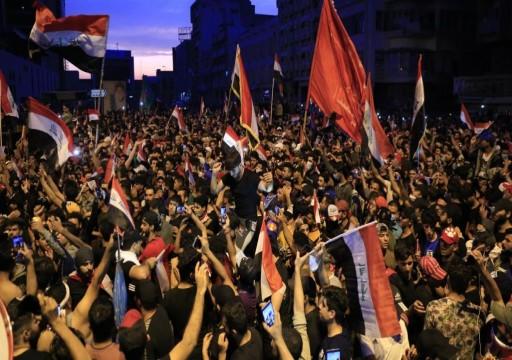 بعد الإطاحة بخلية مرتبطة بطحنون بن زايد.. هكذا تحاول أبوظبي التأثير على مظاهرات العراق
