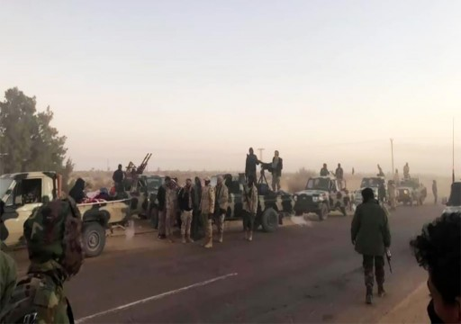 هجوم على قوات حفتر أثناء توسعها جنوبي ليبيا
