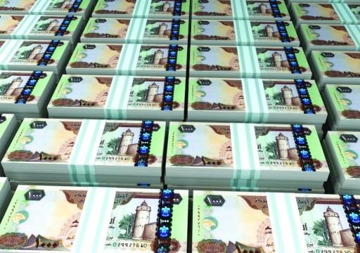 المصرف المركزي: البنوك تضخ 76.3 مليار درهم قروضاً جديدة في 2018