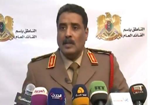 حفتر يهدد أي رحلات جوية من ليبيا إلى تركيا وبالعكس