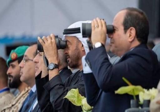 محمد بن زايد والسيسي يدشنان قاعدة عسكرية على البحر الأحمر.. وتل أبيب: تحمي أمننا