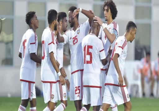 الأبيض الأولمبي يجتاز الكويت في انطلاقة البطولة الدولية
