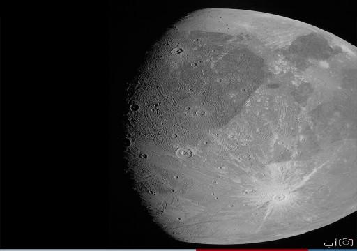 """""""ناسا"""" تنشر أولى الصور لأكبر أقمار كوكب المشتري"""