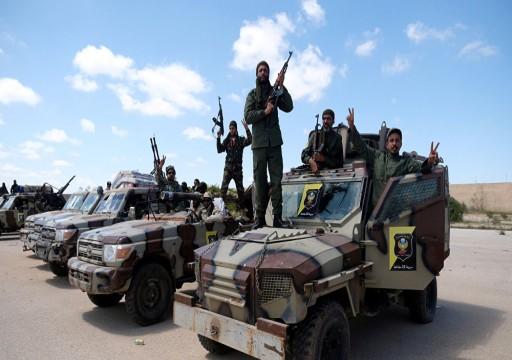 ليبيا.. مقتل 3 من مليشيات حفتر بقصف جوي مسير لـالوفاق