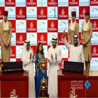 ثندر سنو لجودولفين يفوز بجائزة كأس دبي العالمي للخيل