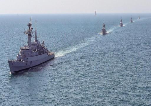 البحرية القطرية تنفذ تمريناً مع نظيرتها الباكستانية