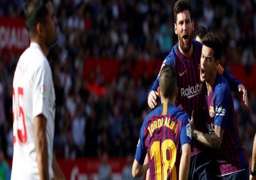 هاتريك ميسي يقود برشلونة لفوز دراماتيكي بالأندلس