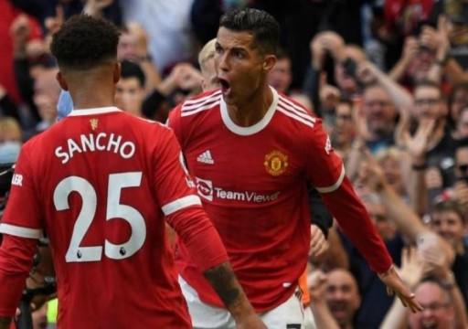 رونالدو يستهل عودته إلى مانشستر يونايتد بهدفين في مرمى نيوكاسل يونايتد