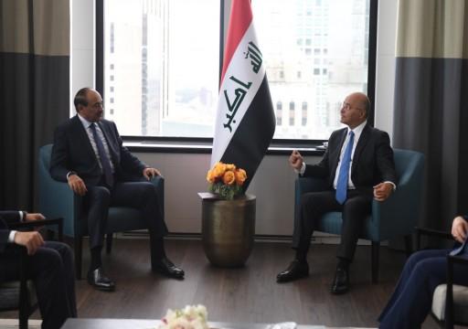 مباحثات كويتية عراقية في نيويورك حول تعزيز العلاقات وتنسيق المواقف