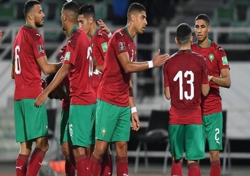 المغرب تقترب من الدور الحاسم المؤهل لمونديال قطر 2022
