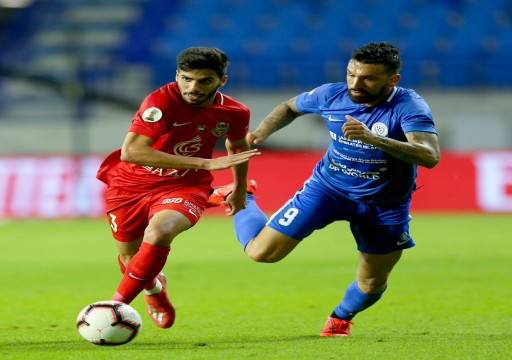 الأهلي دبي يتأهل لنهائي الكأس من بوابة النصر