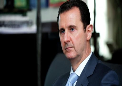 وزير الخارجية البريطاني: الأسد سيبقى في الحكم لبعض الوقت للأسف