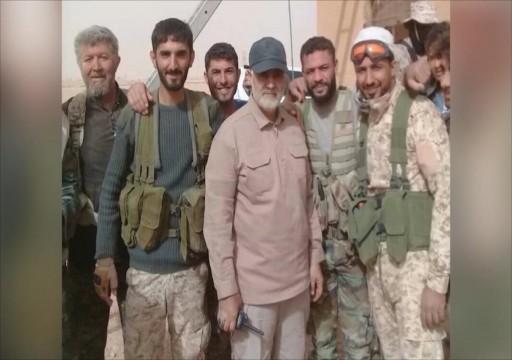 قاسم سليماني بسوريا يوجه مجموعات إيران للاستعداد لحرب مع واشنطن