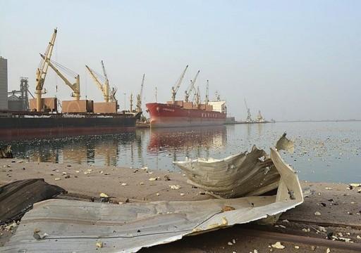 فريق المراقبين الأمميين يزور ميناء الحُديدة اليمنية