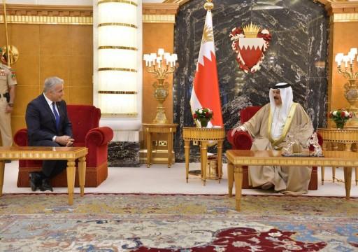 العاهل البحريني يستقبل وزير خارجية الاحتلال وسط رفض شعبي للتطبيع