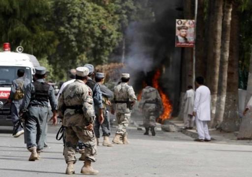 مقتل 25 عنصر أمن بهجوم على مخفر شمالي أفغانستان