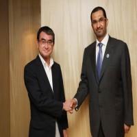 الإمارات واليابان تبحثان تعزيز التعاون الاستراتيجي