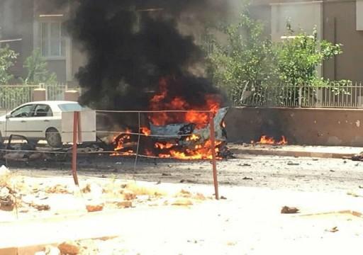 قتلى وجرحى في انفجار سيارة في مدينة تركية محاذية لسوريا