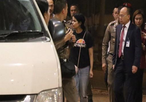 رهف تغادر مطار بانكوك والسعودية تنفي طلب تسليمها