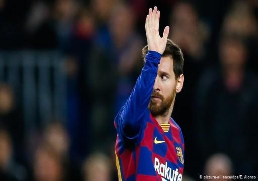 أول فريق يتواصل مع ميسي بعد إعلان رحيله عن برشلونة