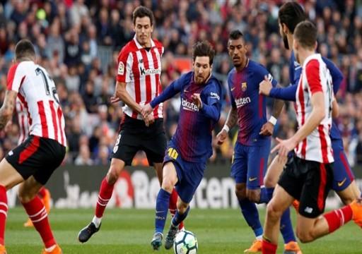 برشلونة أول المتأهلين إلى الدور ثمن النهائي في دوري الأبطال