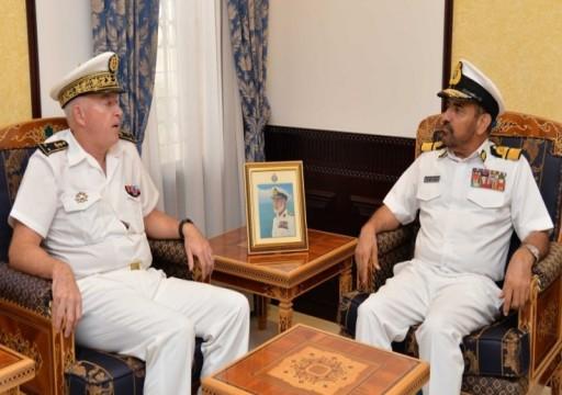 مباحثات عمانية فرنسية لتعزيز التعاون العسكري البحري