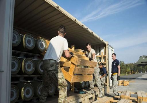 البنتاغون يسلم أضخم شحنة أسلحة إلى أهم قواعده العسكرية