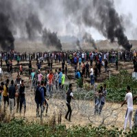 إسرائيل تخشى المواجهة العسكرية مع حماس وجهات دولية تطالبها بالسيطرة على المتظاهرين
