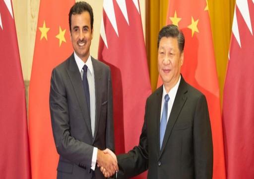 أمير قطر: علاقتنا بالصين تتطور وفق خريطة طريق واضحة