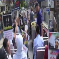 مسيرة بالحافلات في لندن تطالب بالإفراج عن المعتقلين بالإمارات